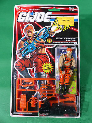 6781  GI Joe Night Creeper Leader  Action Figure  1992   MOSC NOS
