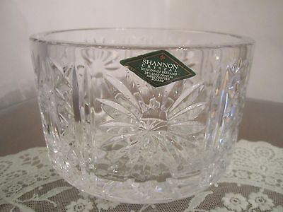 Shannon 24% Lead Crystal Candy Dish with Label