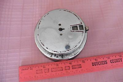 Vintage Add-O-Bank chrome metal adding bank 1940's (no key) Steel products corp