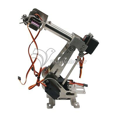 6 Axis Mechanical Robotic Arm Clamp with Servos DIY Kit  for Arduino, Raspberry