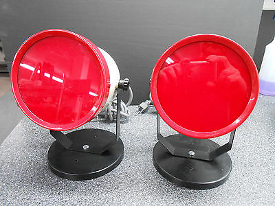 2 x TECHNO AIDE SSP-15 SAFE SPOT SAFELIGHTS 15 WATT INCANDESCENT LAMP
