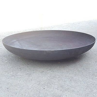 Large Steel Outdoor Garden Bowl Patio Fire Pit 80cm BBQ Log Burner