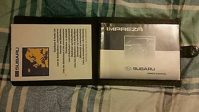 subaru impreza 2002 owners manual