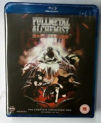 Fullmetal Alchemist The Complete Collection Two (2013) [Blu-ray] New & Sealed gr
