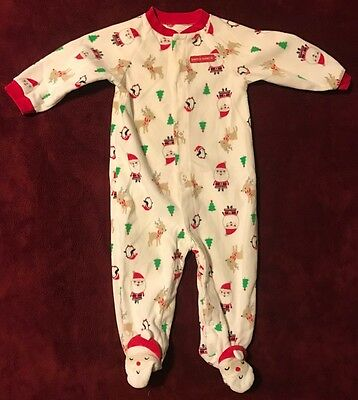 Baby Just One You By Carter's Christmas Santa Sleeper, Size 9 Months