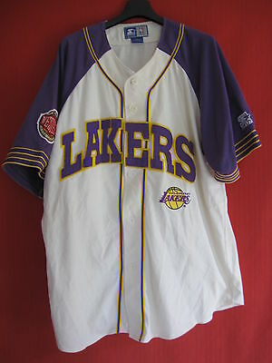 jersey Basket shirt Starter Los Angeles NBA Lakers original vintage USA - XL
