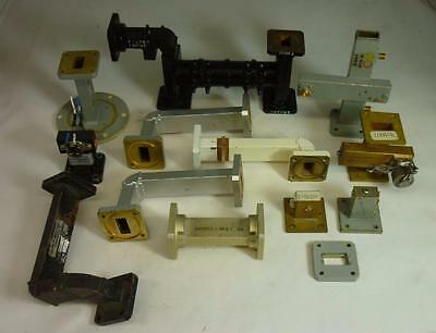 Mixed Lot of Vintage Waveguide Connectors and Tubes