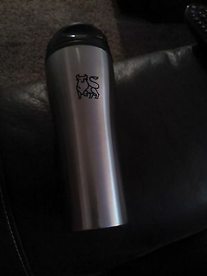 Merrill Lynch, Bank of America, Wall Street Bull Logo Travel mug! New!