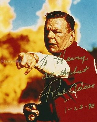 Red Adair - Inscribed Photograph Signed 01/25/1990