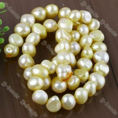 8-9mm Cultured Freshwater Pearl Nugget Loose Beads