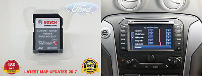 Genuine Ford Touchscreen Navigation Sat Nav Sd Card Latest 2017 Map V7 Mca