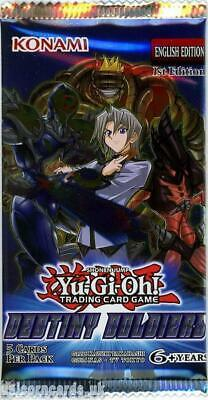 YuGiOh! Destiny Soldiers 1st Edition New And Sealed Booster Pack x1