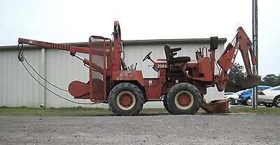 Ditch Witch 5700 4x4 Cable / Pipe  Layer, Backhoe Combo Deutz Diesel Engine