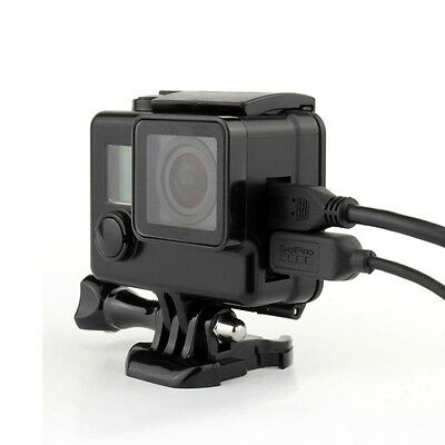 New Protective Housing Case fits to GoPro HERO 3 3+ 4 with Side Opening USB Port