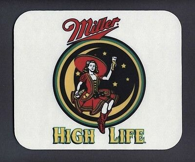 New MILLER HIGH LIFE Beer Christmas Stocking Stuffer Mouse Pad Mats Mousepad