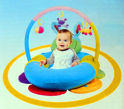 New Happy Baby Sit Me Up Cosy Blossom Inflatable Ring Comfortable Cushion (Boy)