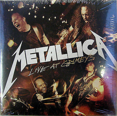 "METALLICA LP x 2 Live At Grimey's 10"" Double vinyl RECORD STORE DAY Gatefold NEW"
