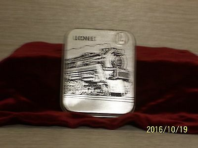 LIONEL Railroad Pocket Watch And Fob In Original Case