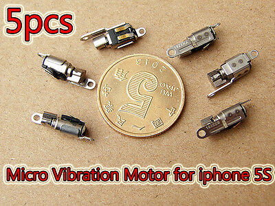 5pcs Vibrator Vibration Slient Motor OEM DC 3V Vibrating Repair For iPhone 5S
