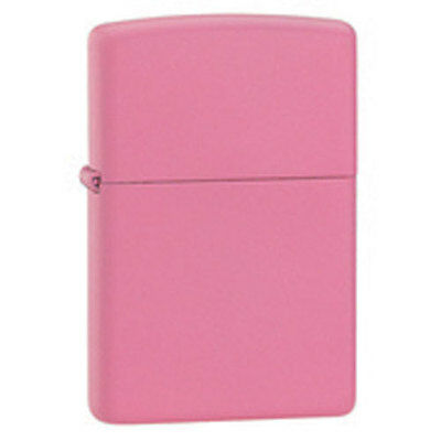 Zippo Pink Matte Lighter - Full Size 238 Genuine
