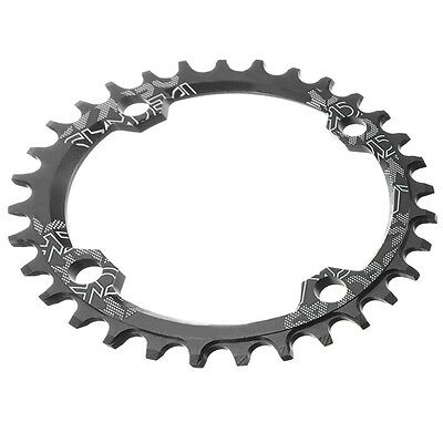 SNAIL Single Tooth Narrow Wide Bike MTB Chainring 104BCD black 32T BU