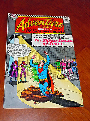 ADVENTURE COMICS #344 (1966) FINE cond (6.0)  LEGION of SUPER-HEROES