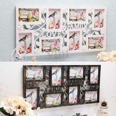 Multi Photoframe Family Love Picture Wall Photo Frames Gift Wedding Home Decor