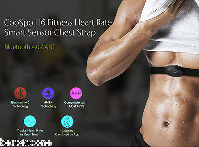 CooSpo H6 ANT Bluetooth 4.0 Heart Rate Smart Sensor Chest Sports Strap
