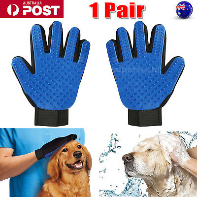 Cleaning Brush Magic Touch Glove Pet Dog Cat Massage Hair Removal Grooming