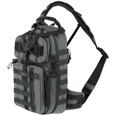 Maxpedition Sitka Gearslinger Tactical Combat Backpack MOLLE Sling Bag Wolf Gray