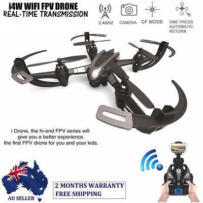 iDrone I4W 2.4Ghz 4CH 6-Axis FPV RC Quadcopter Drone RTF Real-Time HD Camera