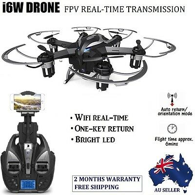 100% New iDrone i6W Drone FPV HD Camera RC Flying Quadcopter 2.4G 6-Axis Gyro