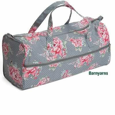 Knitting Bag Storage Bag for Knitting Wool, Knitting Needles & Craft- Blooms