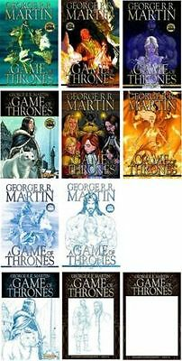 GAME OF THRONES 1 2 3 4 5 6; mixed set George R. R. Martin Winter is coming