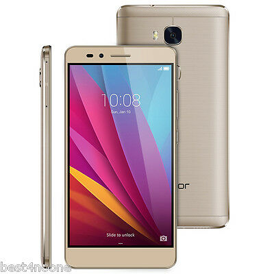 "5.5"" Huawei Honor 5X Android 4G Smartphone Octa Core 1.5GHz 2G+16G FHD 13.0MP"