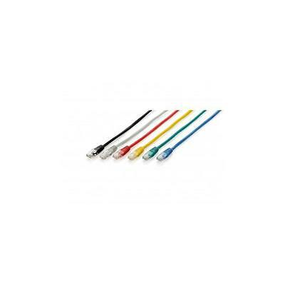 Cable Equiplatiguillo U/utp Categoria 6 0.5M Color