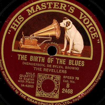 REVELLERS  The birth of the Blues / So blue      Schellackplatte 78rpm     S8415