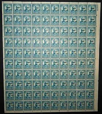 MINT SHEET - #648 5c Hawaii Ovpt -- SCARCE!! ***SALE***