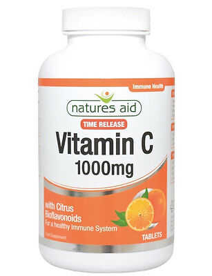 Natures Aid Vitamin C Time Release 1000mg - 240 Tablets EXTRA VALUE PACK