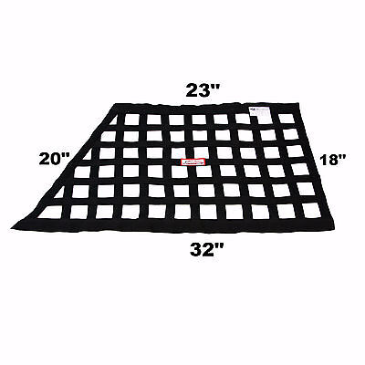 Sfi 27.1 Racing Safety Window Net Black Arca Nascar Oval Circle Track