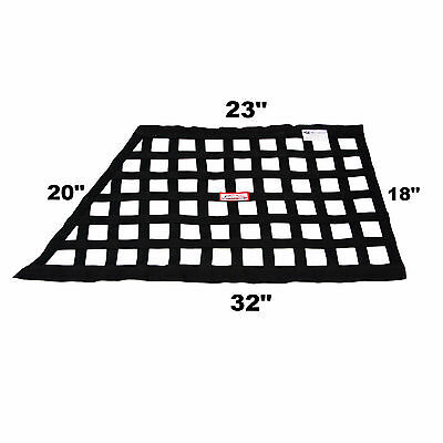Off Road Racing Safety Window Net Sfi 27.1 Black Oblong