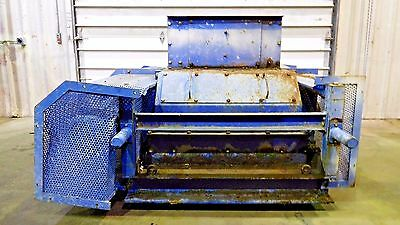 """RX-3090, KRS RECYCLING SYSTEMS DRC 15 DOUBLE ROLL CRUSHER. 19"""" x 29"""" OPENING."""