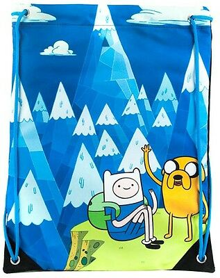 Adventure Time Finn & Jake Mountain Gym Bag | Official School New