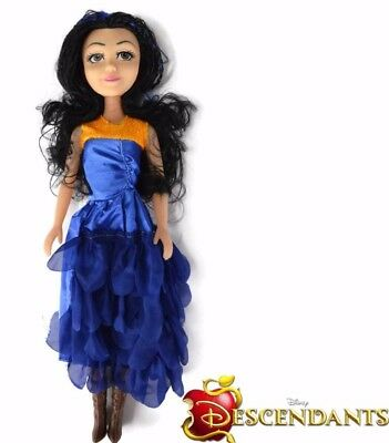 "18"" Large Descendants EVIE Singing Princess Doll Action Figure Girls Toy Gift UK"