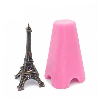 3D Tower Silicone Mold Fondant Cake Soap Mould
