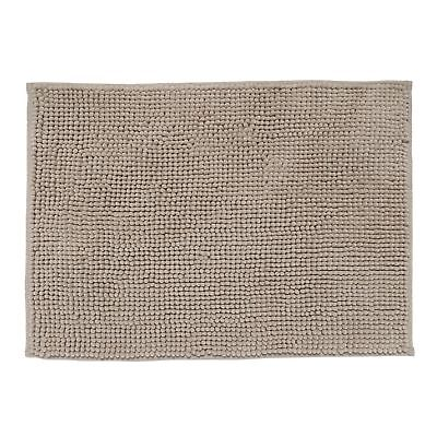 Home Collection Basics Taupe Bobble Textured Bath Mat