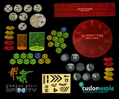 Customeeple Infinity Red Veil Deluxe Pack 54 Units Set new