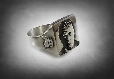 Winner Ring Donald J. Trump The New President In USA 2017 Sterling Silver 925