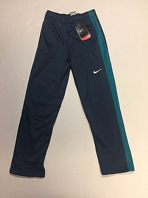 Nike Boys Therma-Fit Warm Athletic Sweatpants 699895 480 Teal Youth Size MEDIUM