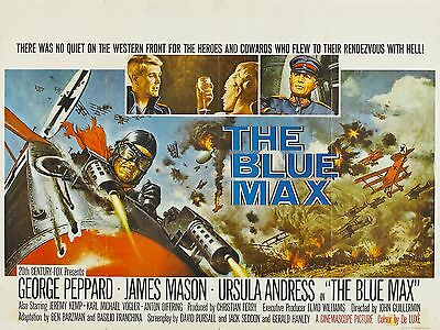 """The Blue Max 16"""" x 12"""" Reproduction Movie Poster Photograph 3"""